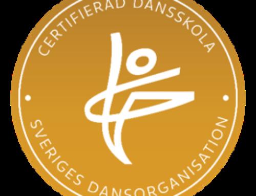 Certifierad Dansskola – en extra kvalitetsstämpel