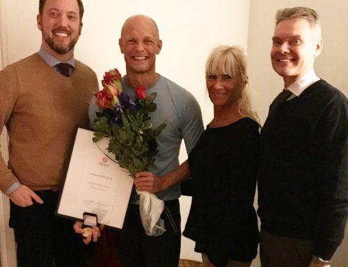 SDO's hedersmedalj 2019 har tilldelats Tobias Karlsson!