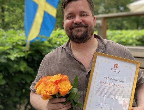 Stort grattis till Sinclairs Göteborg som belönats med utmärkelsen Årets Dansskola!